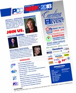2018 carolina postal forum flyer
